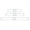 Unisan Clip-On Dust Mop Frame UNS1460