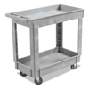 utility carts, trucks and ladders: Two-Shelf Utility Cart