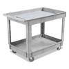 Unisan Two-Shelf Utility Cart UNS 4024UCGRA