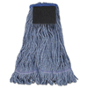Unisan Loop-End Mop with Scrub Pad UNS 903BL