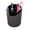 Desk Accessories and Workspace Organizers: Universal® Recycled Plastic Big Pencil Cup