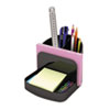 Clean and Green: Universal® Recycled Plastic Deluxe Desk Organizer