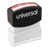 Universal Universal® Pre-Inked One-Color Stamp UNV 10156
