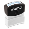 Universal Universal® Pre-Inked One-Color Stamp UNV 10157