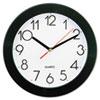 "Universal Universal® 9 3/4"" Round Wall Clock UNV10421"