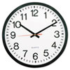 """Room Accessories: Universal® 12 1/2"""" Round Wall Clock"""