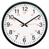Universal Universal® 24-Hour Round Wall Clock UNV 10441