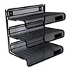 Desk Accessories and Workspace Organizers: Universal® Mesh Three-Tier Desk Shelf