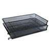 Desk Accessories and Workspace Organizers: Universal® Mesh Stacking Side Load Tray