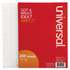 Universal Universal® Filler Paper UNV 20920