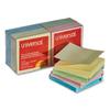 sticky notes: Universal® Fan-Folded Self-Stick Pastel Color Pop-Up Note Pads