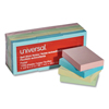 sticky notes: Universal® Standard Self-Stick Pastel Color Note Pads