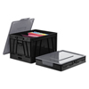 storage file boxes and moving boxes: Universal® Collapsible Crate