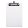 Universal Universal® Plastic Clipboard with Low Profile Clip UNV 40312