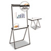 Presentation Boards: Universal® Dry Erase Easel with Footbar