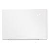 dry erase boards: Universal® Frameless Magnetic Glass Marker Board