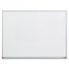 Universal Universal® White Melamine Dry Erase Boards with Aluminum Frame UNV 43622