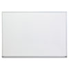 Universal Universal® White Melamine Dry Erase Boards with Aluminum Frame UNV 43624