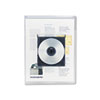 Universal Universal® Transparent Deluxe Locking Project Files with CD-ROM Holder UNV 50780
