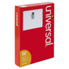 Universal Universal® Clear Badge Holders With Inserts UNV 56003