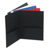 Universal Universal® Two-Pocket Portfolios with Leatherette Covers UNV 56613