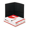 Universal Universal® Two-Pocket Portfolios with Leatherette Covers UNV 56616
