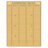 Universal Universal® Light Brown Kraft String & Button Interoffice Envelope UNV 63568