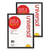 File Folder Accessories Hanging Folder Bars Frames: Universal® Black Poster Frame