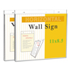 Universal Universal® Wall Mount Sign Holder UNV 76883