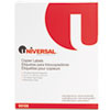 Universal Universal® Bulk Pack Copier Mailing Labels UNV 90108