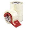 packaging tape: Universal® Heavy-Duty Box Sealing Tape with Dispenser