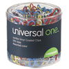 soaps and hand sanitizers: Universal® Vinyl Coated Wire Paper Clips