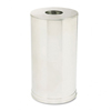 Rubbermaid Commercial European & Metallic Series Receptacle with Drop-In Top RCP CC16SSS