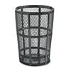 Rubbermaid Commercial Steel Street Basket Waste Receptacle RCP SBR52BK
