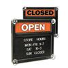 U.S. Stamp & Sign Headline® Sign Double-Sided Open/Closed Sign USS 3727