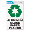 U.S. Stamp & Sign Headline® Sign Self-Stick Recycled Combo Decal USS 4459