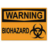 U.S. Stamp & Sign Headline® OSHA Safety Signs USS 5498