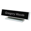 U.S. Stamp & Sign Identity Group Architectural Desk Sign with Name Plate USS 5701