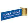 U.S. Stamp & Sign Headline® Sign Custom Engraved Hallway Sign USS 93301
