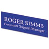 U.S. Stamp & Sign Identity Group Replacement Name Plate USS 94100