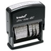 U.S. Stamp & Sign U. S. Stamp & Sign® Trodat™ Economy 12-Message Date Stamp USSE4817