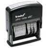 U.S. Stamp & Sign U. S. Stamp & Sign® Trodat™ Economy 12-Message Date Stamp USS E4817