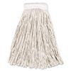 Rubbermaid Commercial Non-Launderable Economy Cut-End Cotton Wet Mop Heads RCPV157