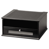 platforms stands and shelves: Victor® Midnight Black Collection™ Monitor Riser