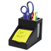 Victor Victor® Midnight Black Collection™ Pencil Cup with Note Holder VCT 95055
