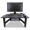computer workstations: Victor® DC100 High Rise™ Collection Stand-Up Desk Converter