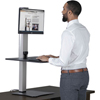computer workstations: Victor® DC400 High Rise™ Collection Electric Standing Desk Workstation