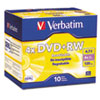 Storage Media: Verbatim® DVD+RW Rewritable Disc