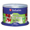 CDs Rewritable: Verbatim® CD-RW DataLifePlus Printable Rewritable Disc