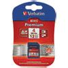 memory card: Verbatim® Premium SDHC Cards
